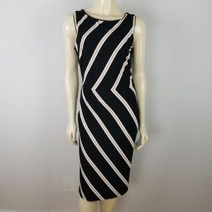White House Black Market sleeveless dress sz 8